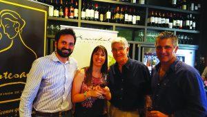 Andrés Marichal, Valentina Gatti, Eduardo Lanza y Jorge Pignataro.