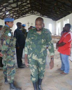 Ntabo Ntaberi Cheka. Foto: Ejército uruguayo.