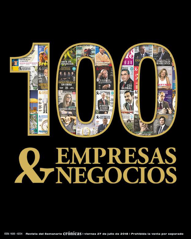 PORTADA EMPRESAS & NEGOCIOS Nº 100